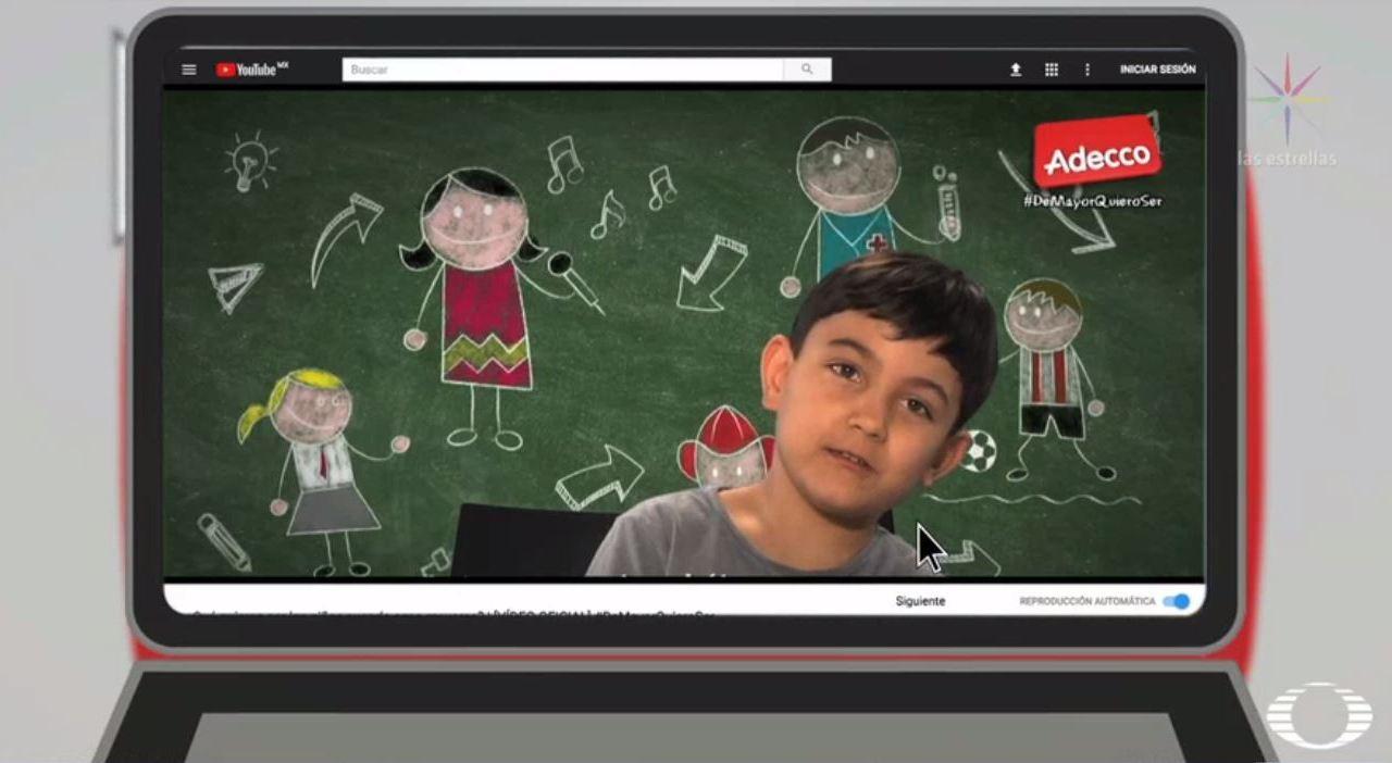 niños prefieren ser youtuber en el mundo