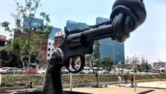 donan escultura non violence project estadomexico