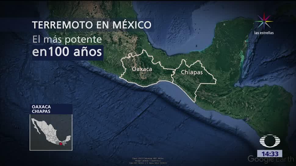 Oaxaca Chiapas Atienden Emergencia Terremoto
