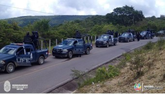 Rescatan a doce personas secuestradas en Tixtla, Guerrero