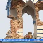 Pérdidas en el patrimonio cultural de Chiapas tras sismo del jueves