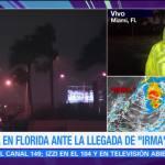 Pobladores de Florida acuden a refugios ante cercanía de 'Irma'