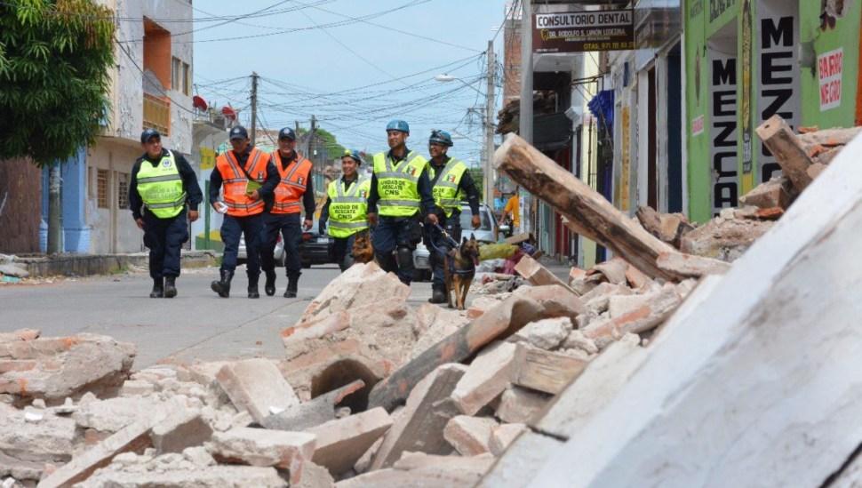 gendarmeria seguridad sismo juchitan oaxaca rapiña