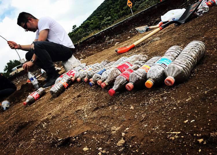 Viviendas Emergentes, VIEM, PET, Plástico, Botellas, Sismo