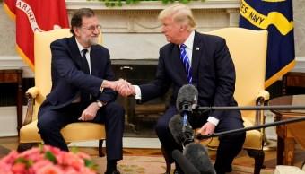 Trump elogia a Rajoy; lo califica de dirigente altamente respetado