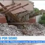 Realizan censo de viviendas afectadas tras sismo en Ixtaltepec, Oaxaca