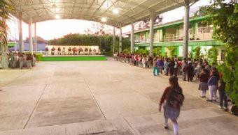 Reanudan clases el 71% de las escuelas de Oaxaca, informa IEEPO