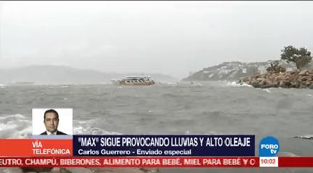 Remanentes Max Provocando Lluvias Guerrero