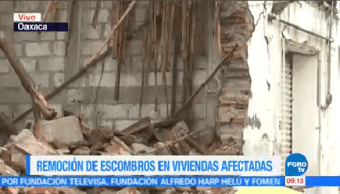 Remoción Escombros Juchitán Oaxaca Jorge Morales