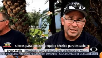 Rescatistas Once Países Llegan México 450 Rescatistas