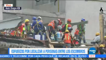 Rescatistas Siguen Retirando Escombros Álvaro Obregón 286