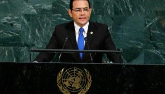 Fiscalía Guatemala pide retirar inmunidad presidente Jimmy Morales