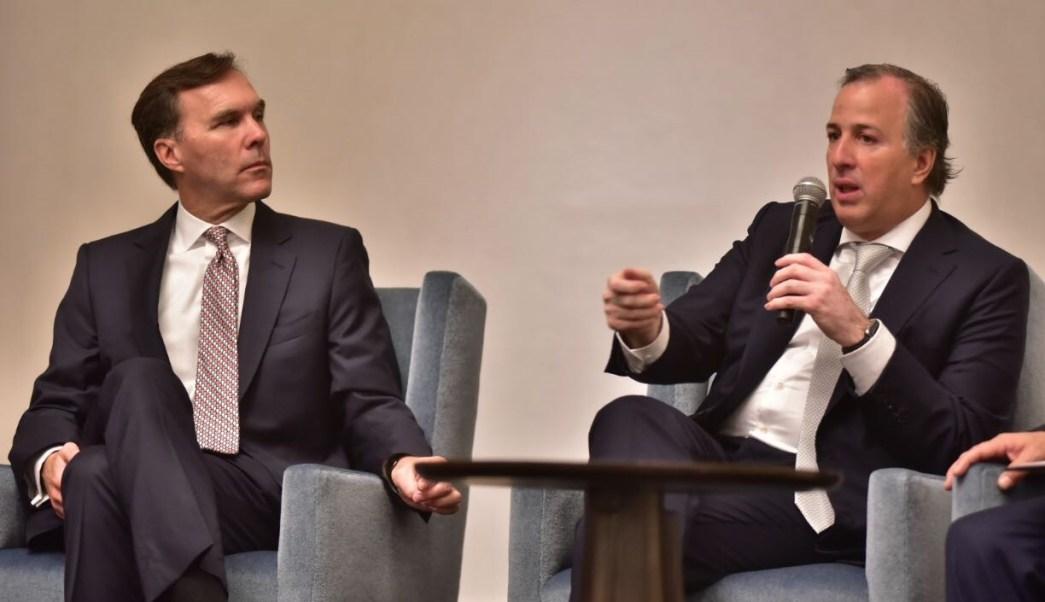 Reunión del ministro Bill Morneau y el secretario Meade