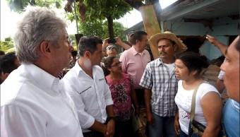 SCT realiza trabajos en apoyo a la población afectada por sismos