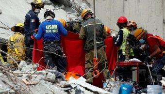 Personas muertas sismo 19 de septiembre
