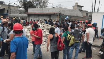Siguen sin luz San Gregorio Xochimilco tras sismo CFE
