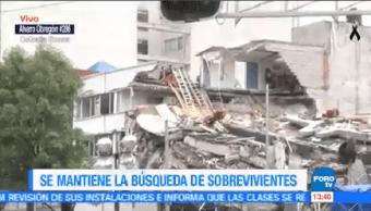 Cumplen 72 Horas Terremoto Cdmx Derrumbe Álvaro Obregón 286
