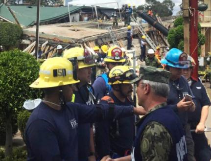 Rescatados con vida 11 niños y recuperados 25 cuerpos del Rébsamen