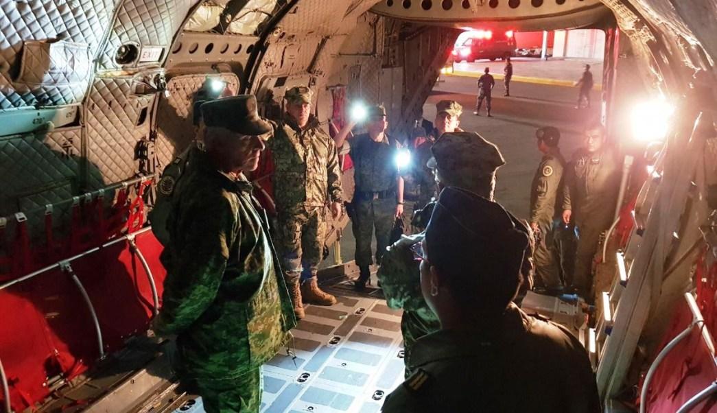 Resultado de imagen para apoyo para afectados por sismo fuerza aerea y ejercito