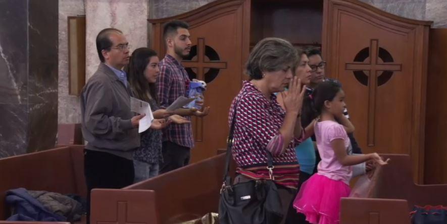 catolicos Iglesias orar sismo colegio rebsamen