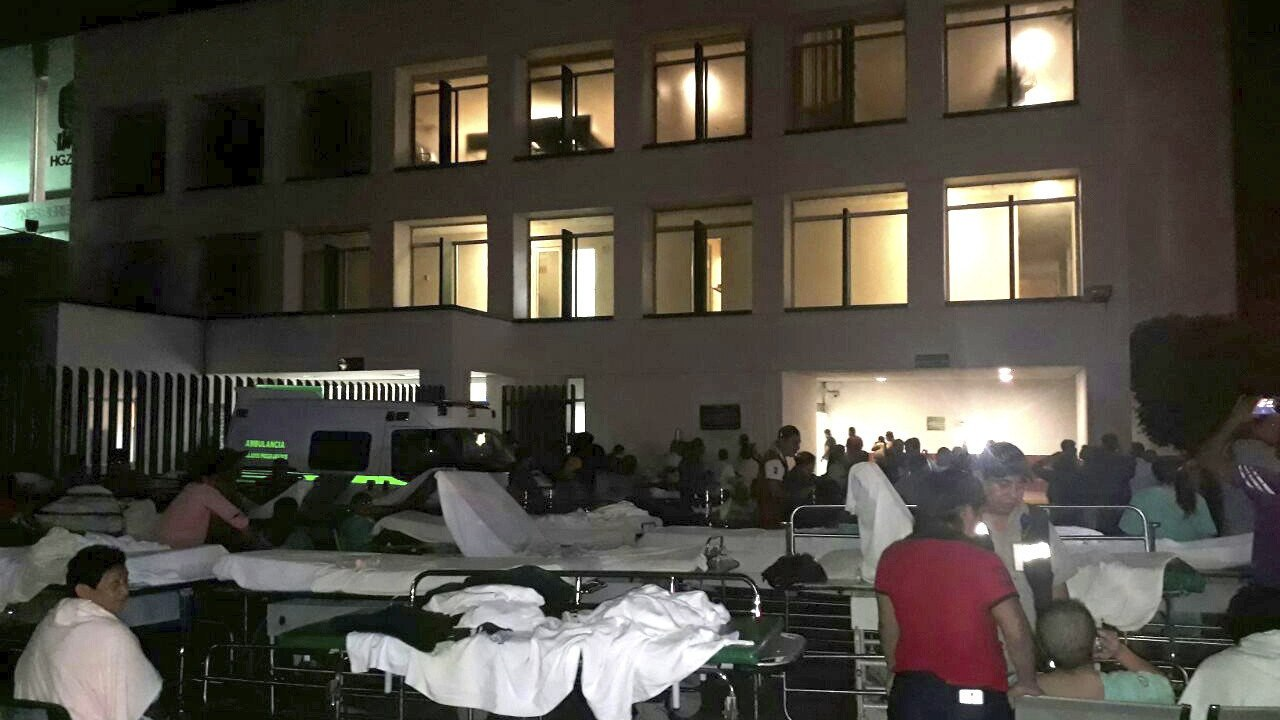 mexico registra sismo mas intenso historia