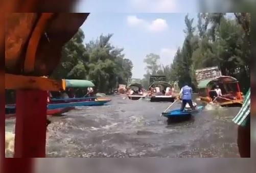Baja 95% la actividad turística en embarcaderos de Xochimilco tras sismo