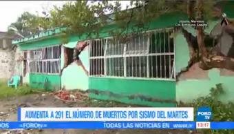 Suman 291 Muertos México Terremoto 19-S Ciudad De México