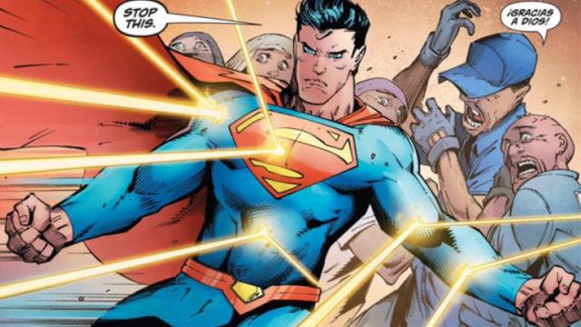 Superman defiende a inmigrantes en nuevo comic.
