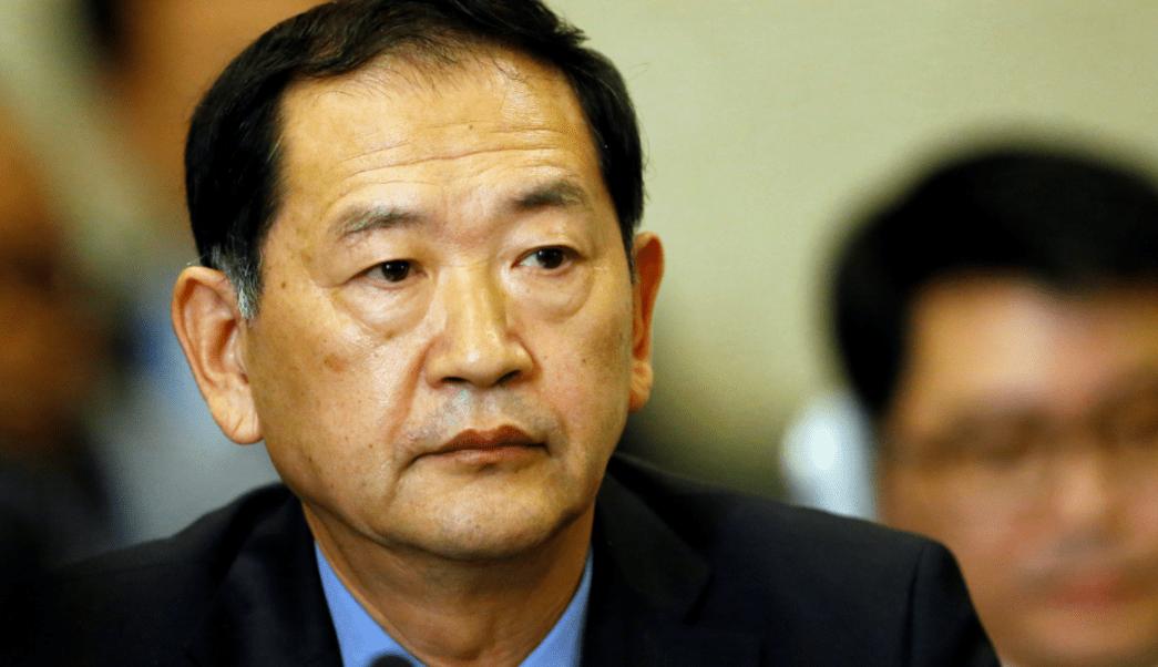 Tae Song Han, embajador de Corea del Norte ante Naciones Unidas. (Reuters, archivo)