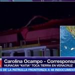 Tecolutla municipio de Veracruz donde impacta Katia