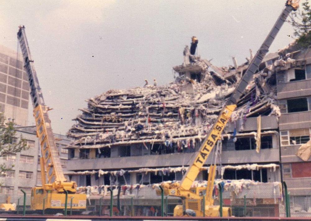 Sismo 19 Septiembre 1985 CDMX