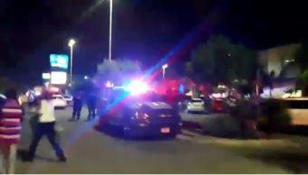 tiroteo cancun heridos plaza policia comercial