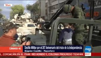 Todo Listo Desfile Militar Cdmx Ciudad De México