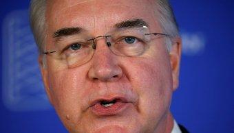 Tom Price devolverá dinero público utilizado vuelos privados