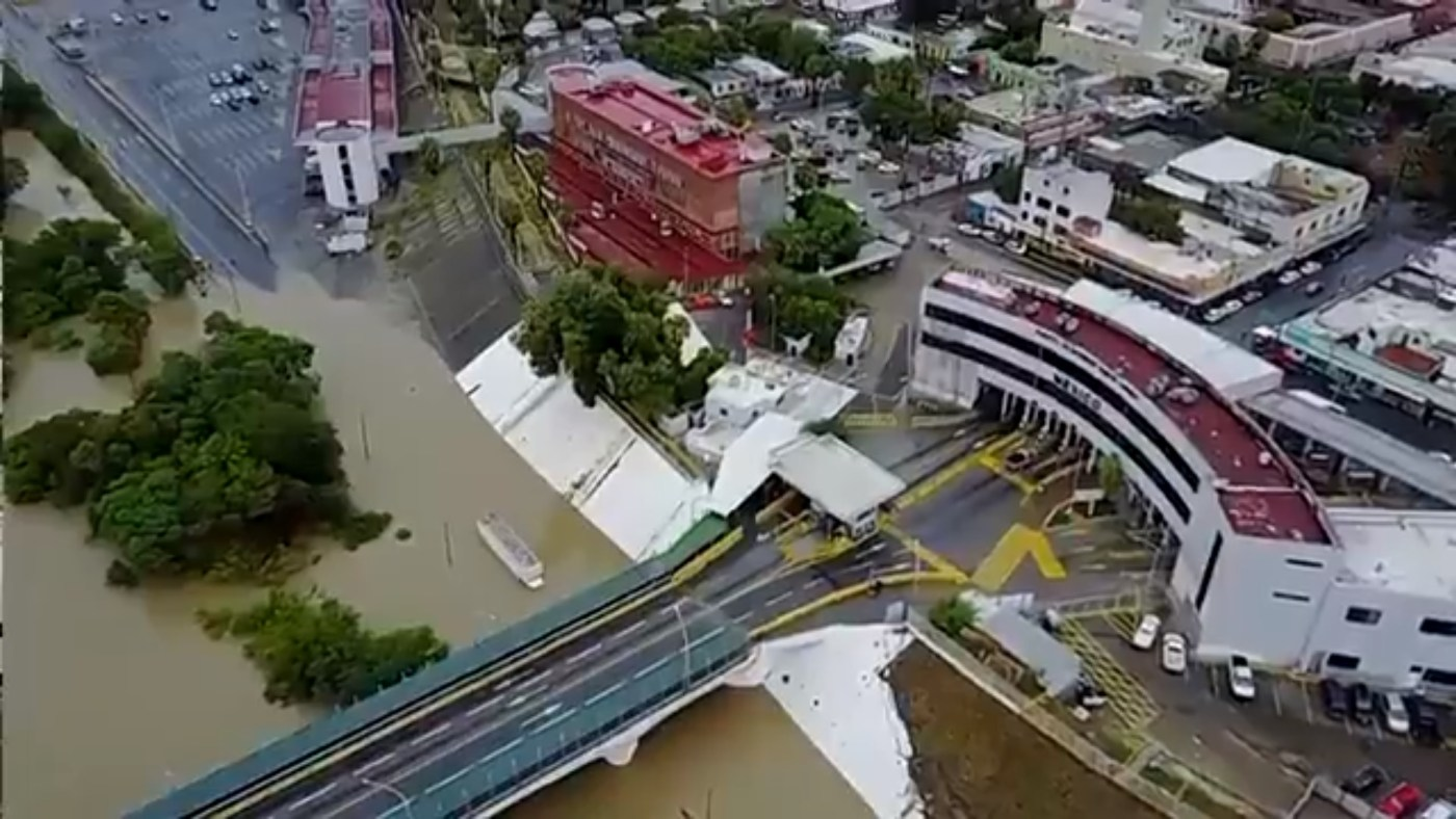 Tormenta desborda el r o bravo en nuevo laredo tamaulipas - El clima en laredo texas ...