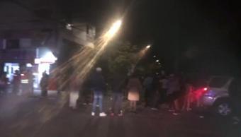 Trabajos de rescate tras sismo en Lindavista, CDMX