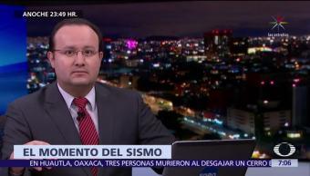 Transmite Erik Camacho el sismo más intenso en un siglo, en vivo