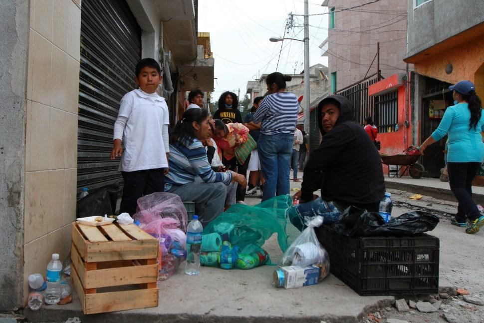 Tras sismo, habitantes de San Gregorio necesitan agua, alimento y vivienda