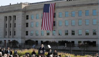 Trump dio un mensaje en la sede del Pentágono