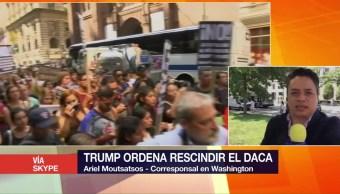 Donald Trump, ordena, rescindir, DACA