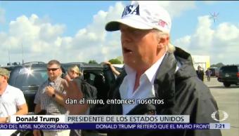 Trump Quiere Muro Fronterizo Negociaciones Dreamers
