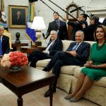 Trump se reune con democratas y republicanos