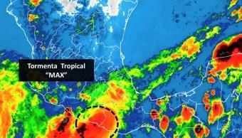 max pierde fuerza y se degrada tormenta tropical