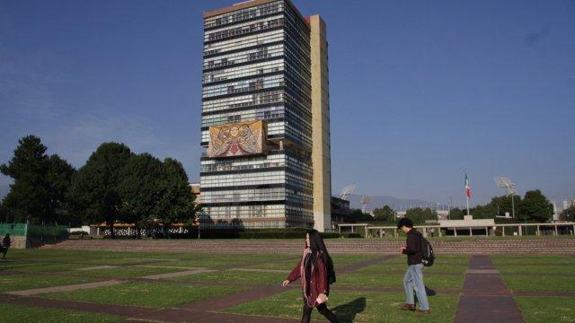 Ciudad Universitaria, UNAM, en la Ciudad de México