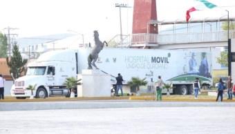 Cuatro unidades médicas móviles llegan a zona afectada por sismo en Oaxaca