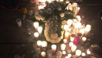 recuerdan victimas 19-S en angel independencia