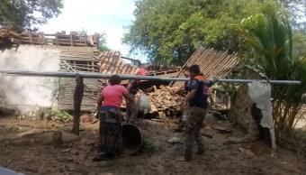 Suman 4 mil viviendas afectadas por Max en Guerrero