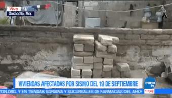 Viviendas Afectadas Sismo 19-S Xoxocotla Morelos
