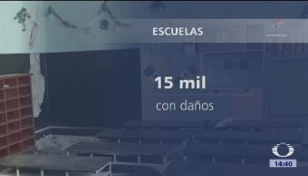 15 Mil Escuelas Dañadas Sismos Secretario Educación Pública Aurelio Nuño