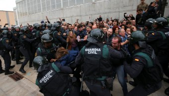 disturbios referendum catalan dejan 38 heridos